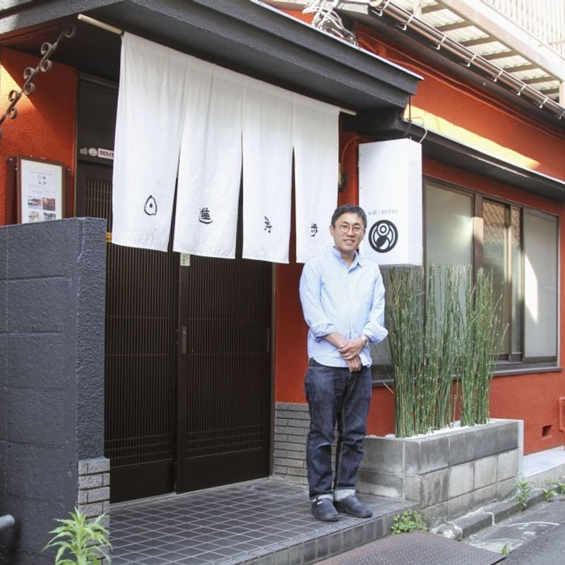 Artistic guesthouse hopes to revive fire-hit lodging area near Tokyo photo
