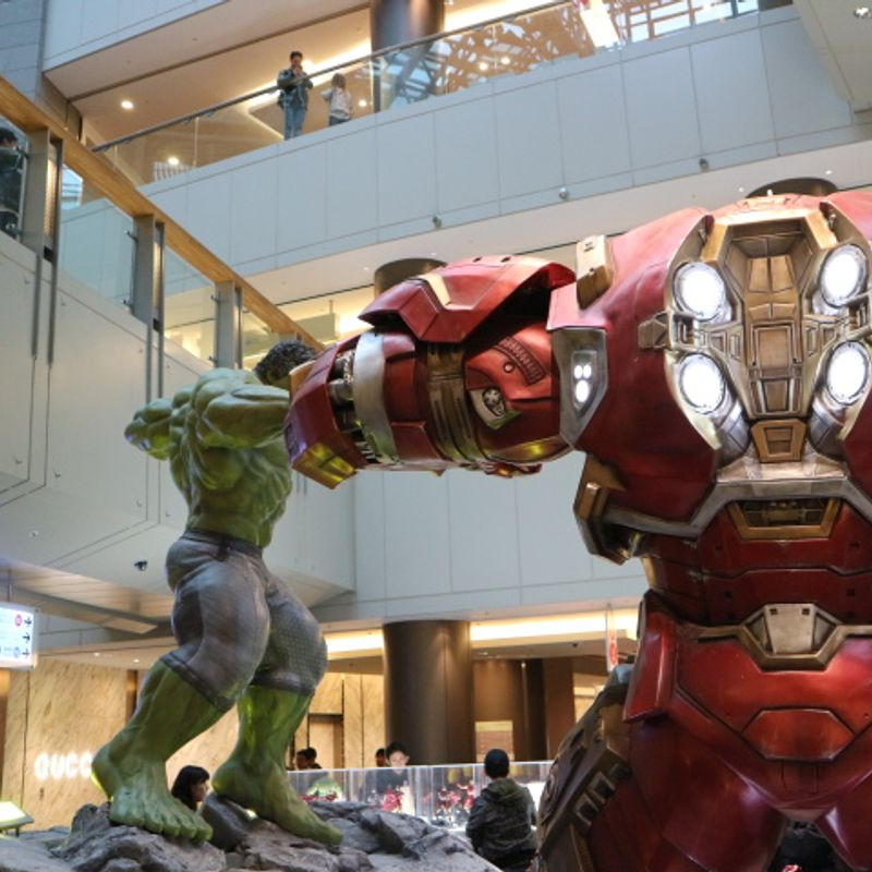 Marvel Age of Heroes Exhibition, Roppongi Hills , Tokyo photo