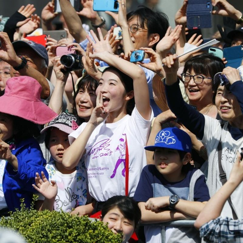 GALLERY: Olympic champion Yuzuru Hanyu's hometown parade photo