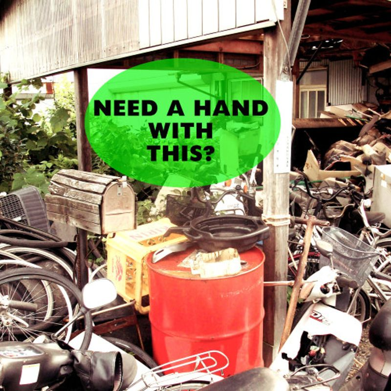 Can't Keep Your Clutter Under Control?  Tidy Up Services In Japan! photo