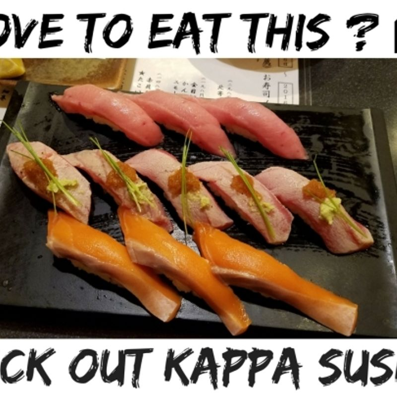 Looking For Yummy Sushi in Japan??? Check Out Kappa Sushi!!! photo
