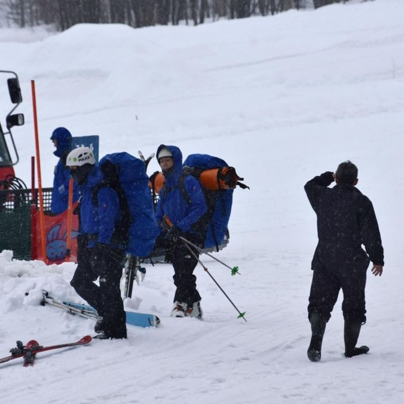 Police confirm safety of 2 French men who went missing at ski resort photo