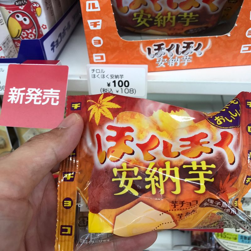 Seasonal Autumn treats you can find at your local convenience store! photo