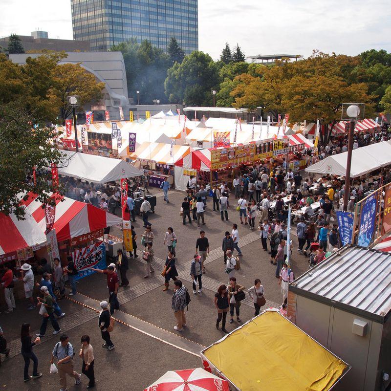 Japan's largest autumn food festivals reignite appetites for 2018 photo