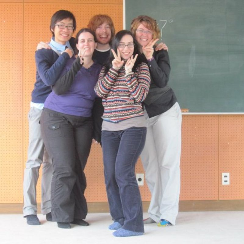 Teaching in winter photo