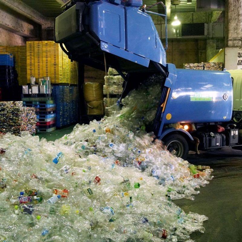 中国輸入禁止後の日本でのプラスチック廃棄物の積み増し photo