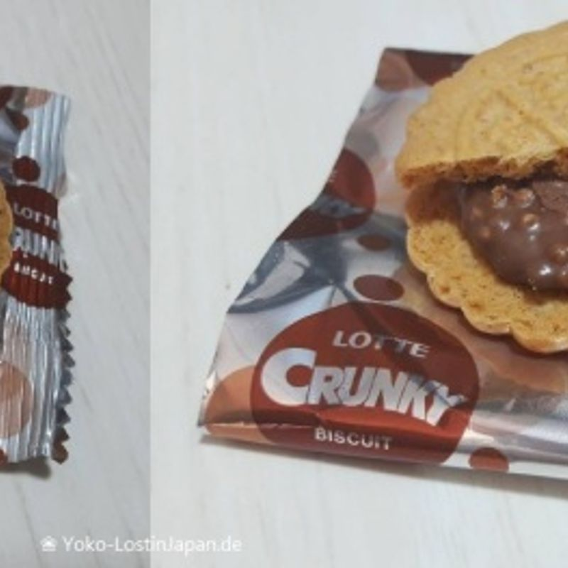 Japan Food Adventure: Crunky Biscuit
