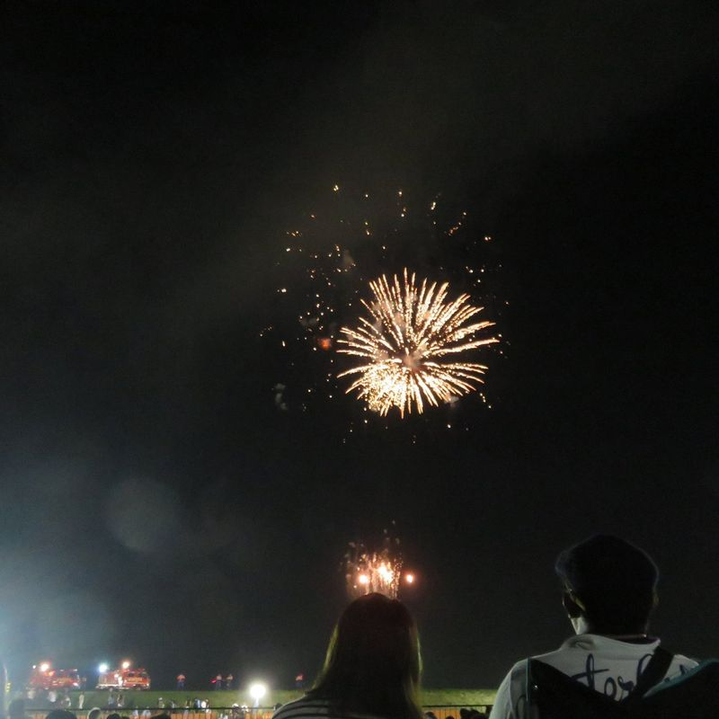 Big fireworks displays photo