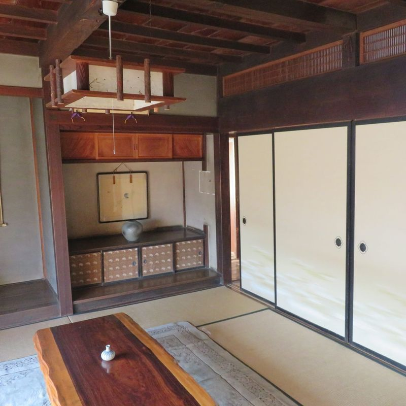 Old Japanese homes photo
