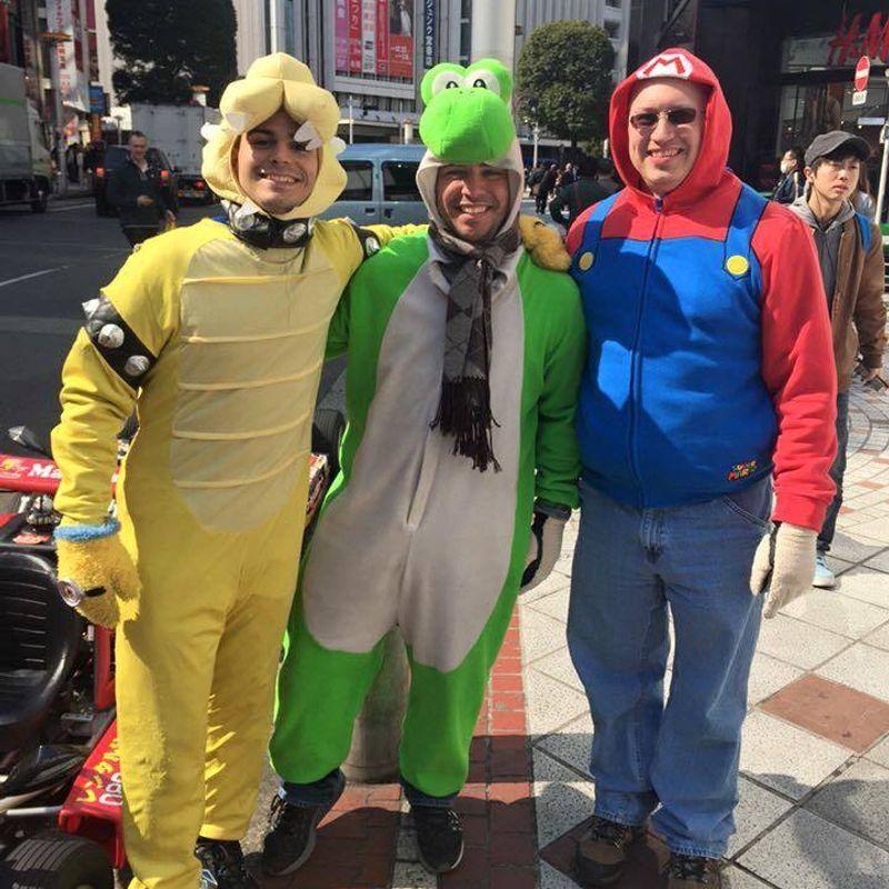 Touring Tokyo As Bowser! photo