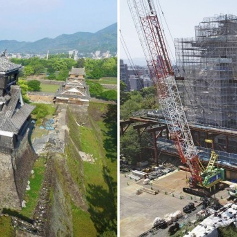 Quake-hit Kumamoto vows to step up reconstruction on 2nd anniversary photo