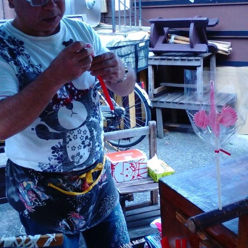 Edo period Candy craft in Kawagoe photo
