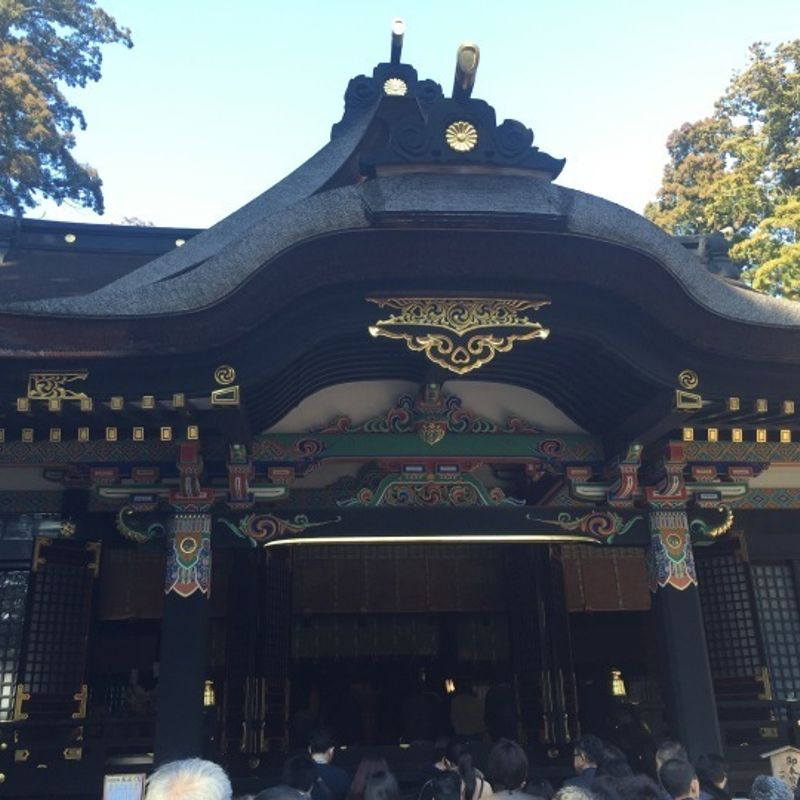 Visiting Shrines outside Tokyo (Kashima, Sawara) and an authentic Meiji era Motif photo