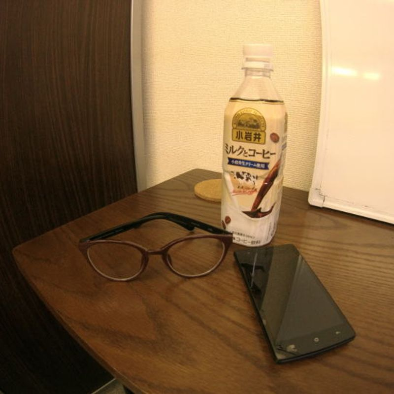 The Four-Eyed Raven. (Game of Thrones, anyone?) Buying a pair of specs in Japan! photo