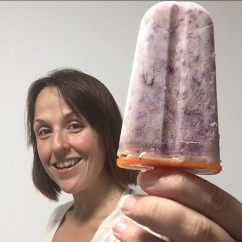 Summer in Japan: Summer Fruits Smoothie Ice Pops photo