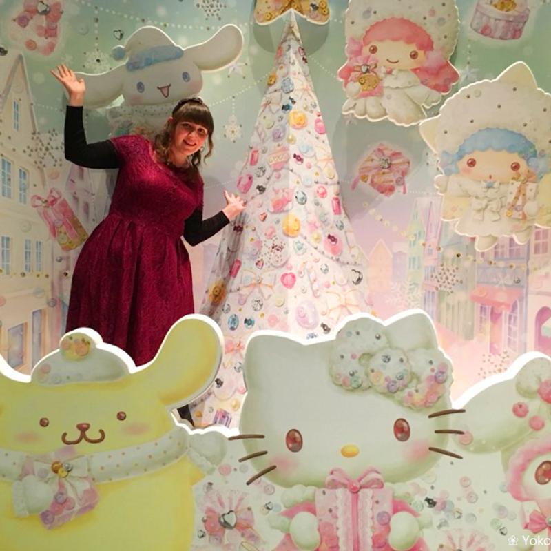 Celebrating Christmas at Sanrio Puroland photo