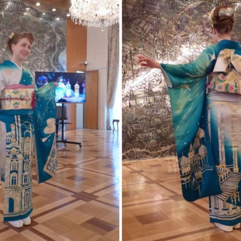 World kimono project for Tokyo 2020 unveils garment with Russian flare photo