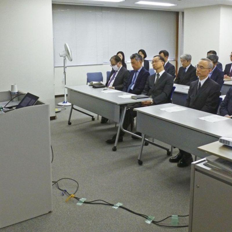 日本の財務省職員がセクシュアルハラスメントに関する講演 photo