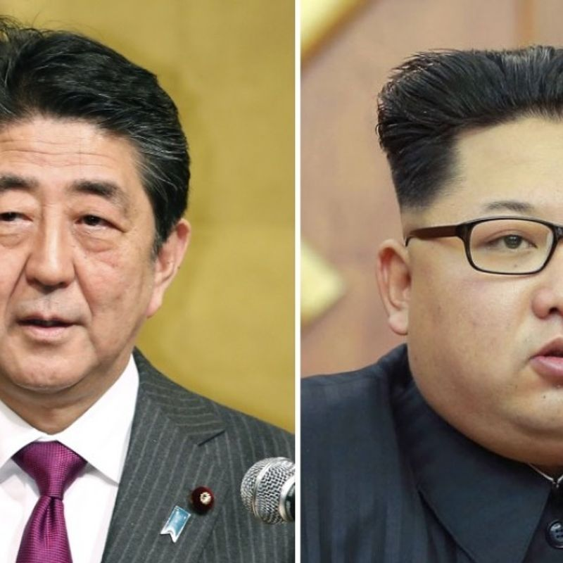 Japan aims to realize summit with North Korea in Sept.: source photo