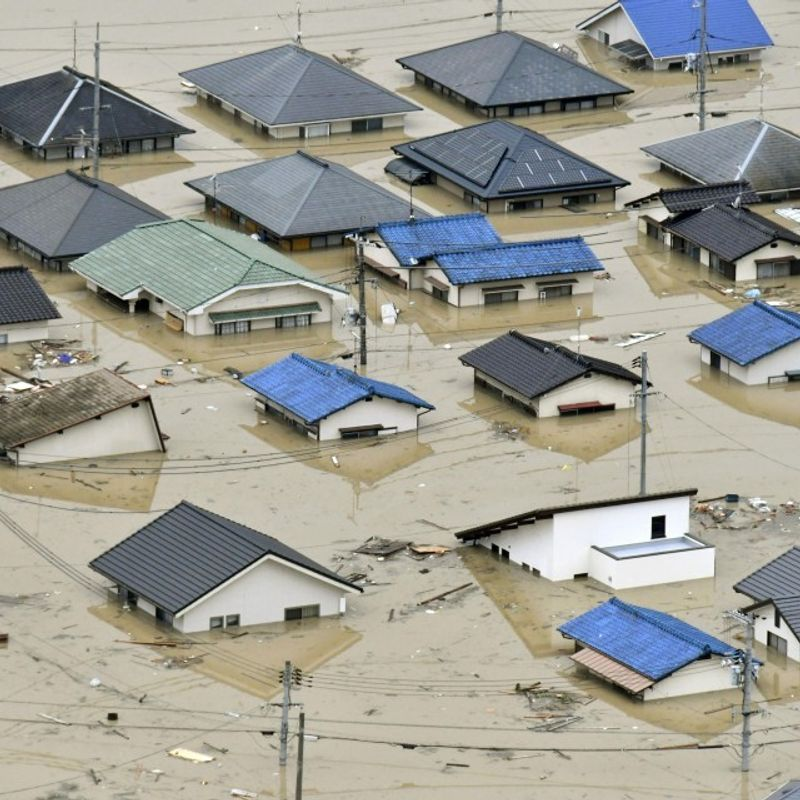 Death toll from heavy rain in western Japan tops 70 photo