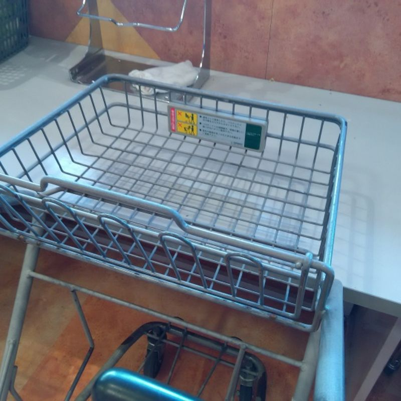 The little secret of supermarket carts photo
