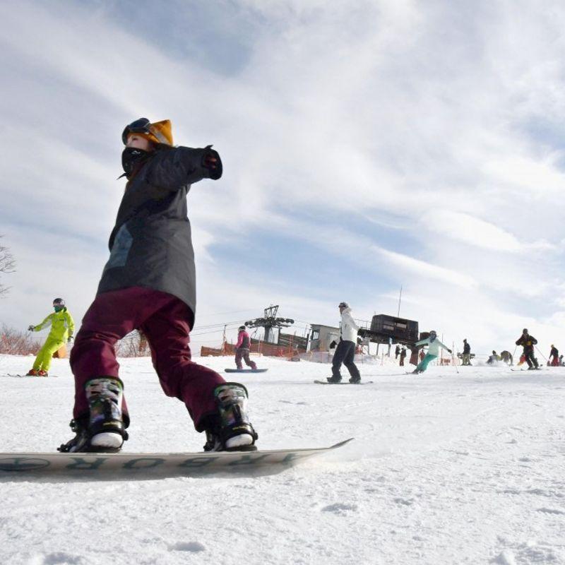 日本最南端のスキー場が季節にオープン photo