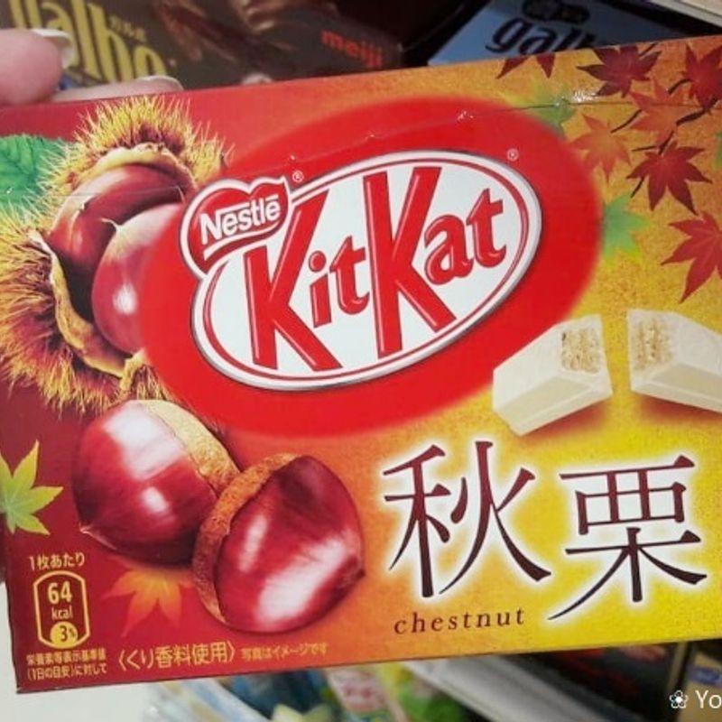Autumn time with KitKat Aki Kuri photo