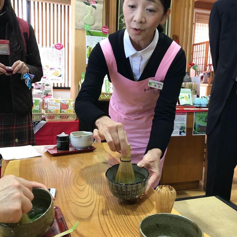 Visiting Osadaen Honten in Mori, Shizuoka photo
