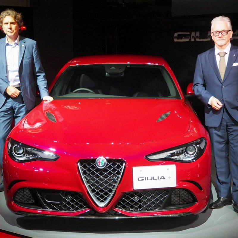 Alfa Romeo high-end sedans to be launched in Japan photo
