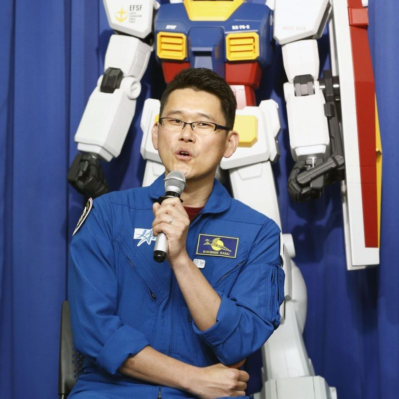 "Olympics: ""Gundam"" robots to greet athletes with messages from space photo"
