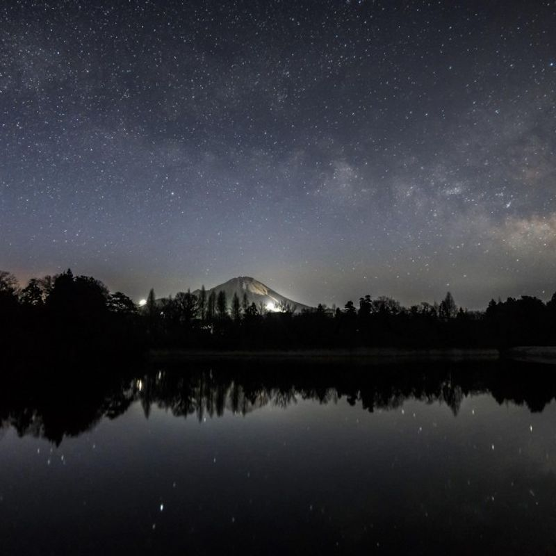 Japanese prefecture bans searchlights and lasers to save starry nights photo